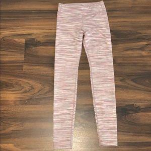Athletes girl large 12 leggings striped